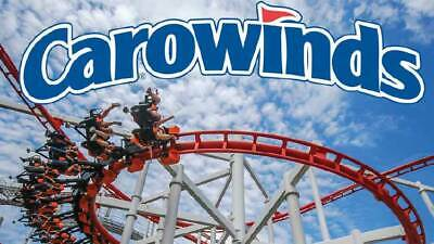 Carowinds e-tickets - 1 Day General Day Admission (Total of 2 e-tickets)