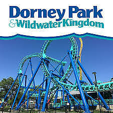 Dorney Park e-tickets - 1 Day General Day Admission (Total of 2 e-tickets)