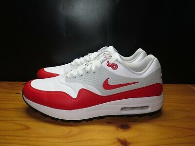 low priced 07349 a3144 Nike Air Max 1 G Golf Sport White   University Red AQ0863-100 Men s Size
