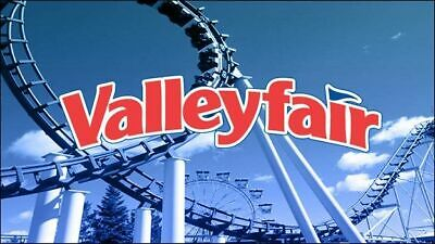 Valleyfair e-tickets - 1 Day General Day Admission (Total of 2 e-tickets)