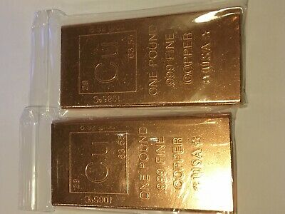 Coins & Paper Money .9995 Pure Copper Ingot 1 Pound Bar Cannabis Marijuana Colorado Washington Legal Bullion