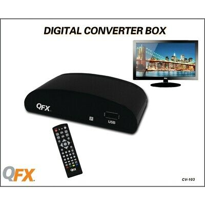 Qfxr Cv-103 Digital Convertr Box