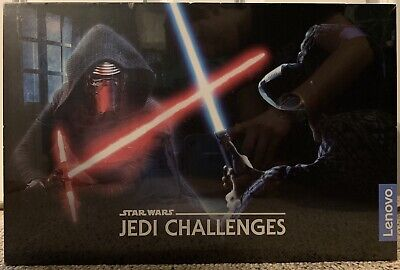 Lenovo ZA390002US Star Wars Jedi Challenges AR Headset with Lightsaber - New!