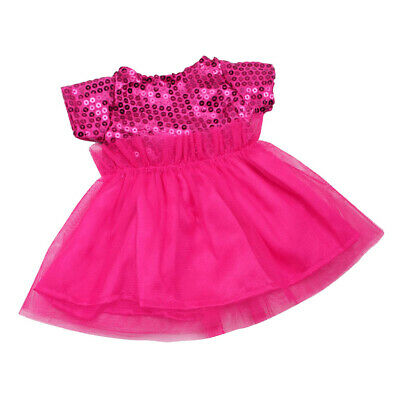 Doll Clothes Sequin Dress Casual Outfit for 18'' AG American Doll Doll Rosy