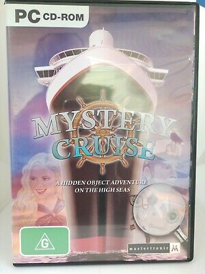 Mystery Cruise - PC CD-ROM - Hidden Object Game