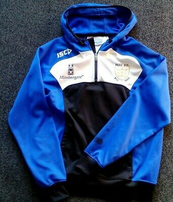 51439a2485a Isc Hull Fc Mens (Or Ladies) Rugby League Hoody Hooded Sweatshirt Good Cond  L