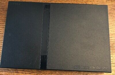 Sony Playstation 2 Slim Black (Japanese) NTSC-J Console Only Ps2 SCPH-75000