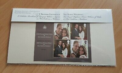Royal Mail Presentation Pack M20 - The Royal Wedding William & Kate 2011 *New*
