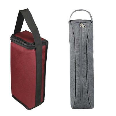 Portable Wine Bottle Insulation Bag Cup Hang Warmer Thermal Cooling Tote Pouch