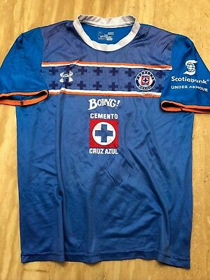 806f148b9 NEW UNDER ARMOUR Deportivo Cruz Azul Youth Soccer Jersey Youth ...