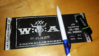 Wacken W:O:A 2019 Ticket