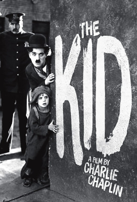 "16mm Feature Film: CHARLIE CHAPLIN ""The Kid"" (1916) MUSICAL SOUNDTRACK"