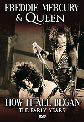 FREDDIE MERCURY & QUEEN New Sealed 2019 HOW IT ALL BEGAN DVD