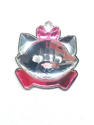 Disney Parks The Aristocats Marie Cat Clear Acrylic Head Jewel Pin
