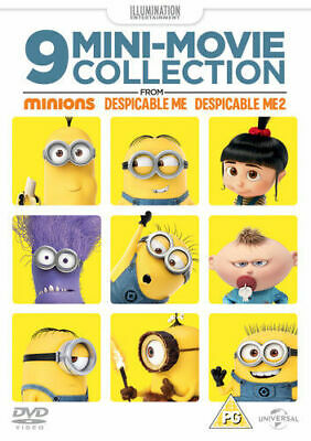 9 Mini-movie Collection from Minions, Despicable Me 1 & 2 DVD