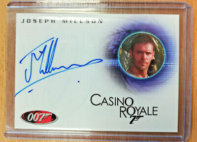 James Bond In Motion A104 Joseph Millson Carter Autograph *Limited*