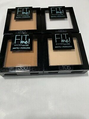 Maybelline Fit Me Matte & Poreless Pressed Powder - Choose Your Shade