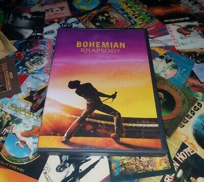 🎵Bohemian Rhapsody🎵 024543558200 (DVD Used Very Good) 🎙🎸🥁🎤QUEEN🎙🎸🥁👑🎤