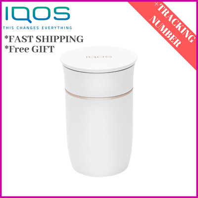 IQOS Car Container Heetstick Heets White Ashtray Original by Philip Morris 3 2