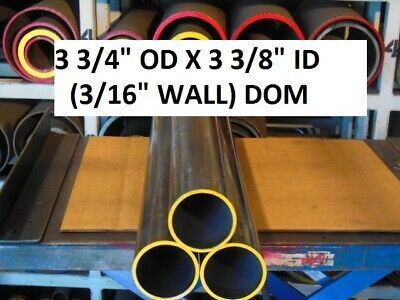 "E0338 Dom Round Steel Tube  3.750 Od  X   3.375 Id  (.187 Wall)   60""  Long"