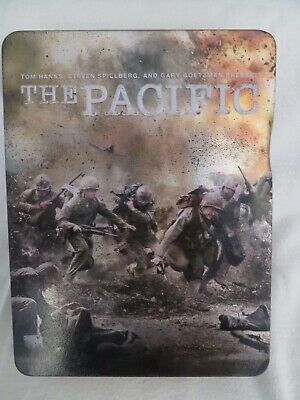 The Pacific Steelbook (DVD, 2010, 6-Disc Set, Box Set)