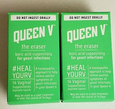 Queen V The Eraser Yeast Infection Treatment - 2 Pack