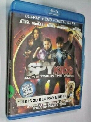 Spy Kids: All the Time in the World (Blu-ray Disc 3D, 2011)