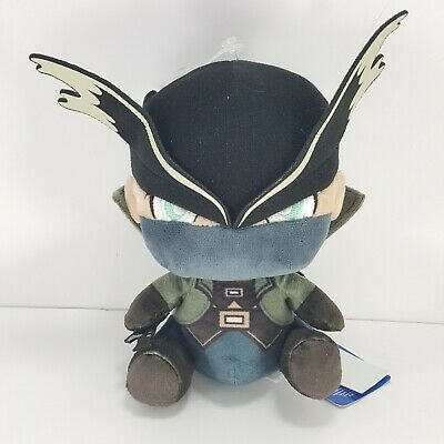 "Official Sony Playstation Brand Bloodborne The Hunter Stubbins 7"" Plush NEW"