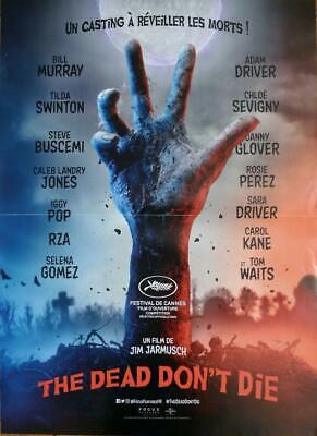 The Dead Don't Die - Horror - Jarmusch / Driver - Original French Movie Poster