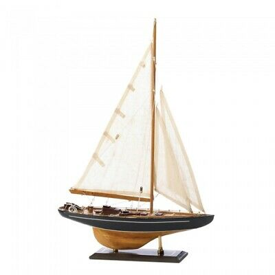 Wooden Model Ship, Model Wooden Sailing Ships, Bermuda Tall Ship Model Assembled