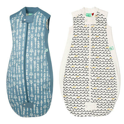 ErgoPouch 1.0 TOG Sheeting Organic Sleeping Bag w Room Thermometer f/ 2-12m Baby