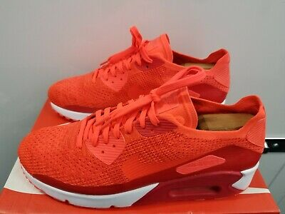official photos 3af55 a77a0 Nike Air Max 90 Ultra 2.0 Flyknit - Bright crimson White Team Red -