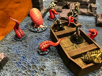 Dungeon Cthulhu Set 28mm Dungeons and Dragons Pathfinder d&d Terrain Scenery