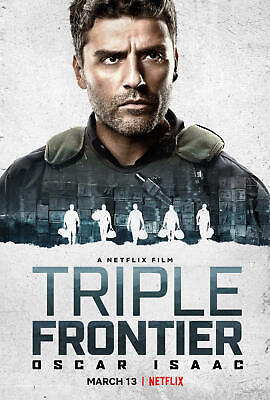 Triple Frontier Movie Canvas Silk Poster Wall Art Home Decor Print 24x36 inch