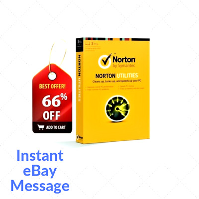 Norton Utilities 16 16.0 for (3 PC's) DOWNLOAD for Windows XP, Vista, 7, 8 & 10