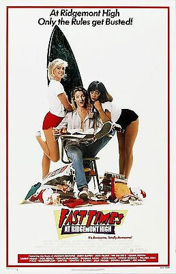 Fast Times At Ridgemont High movie poster print  : 11 x 17 inches  : Sean Penn