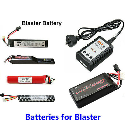 Batteries Charger JM ACR M4A1 SCAR and Lehui Vector V2 Gel Ball Blaster Toy etc