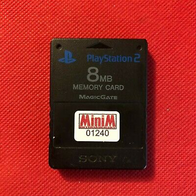 8MB PS2 Memory Card (Sony PlayStation 2) (Accessory Only) (VG)