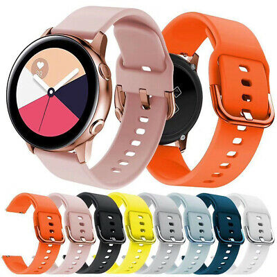 20MM Silicone Watch Bracelet Strap Band For Samsung Galaxy Watch 40mm 42mm