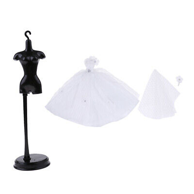 Hot Doll Clothes Display Holder and Wedding Outfit Accessories for
