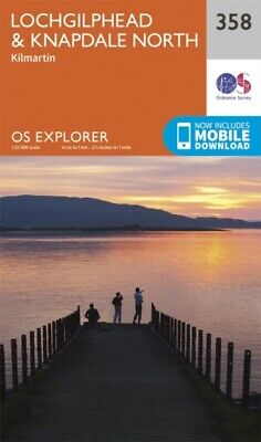 OS Explorer Map (358) Lochgilphead and Knapdale North (Map)