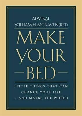 Make Your Bed: Little Things That Can Change Your Life.[PDF](fast delivery 24H)