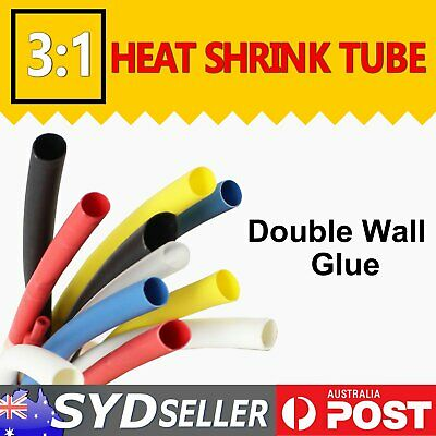 Heat Shrink Tubing 2.2M Double Wall Glue Marine Grade Heatshrink Corrosion Guard