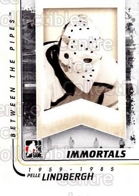 2010-11 Between The Pipes #196 Pelle Lindbergh