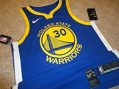 7ad3404d27b Authentic Nike Finals Golden State Warriors Stephen Curry Basketball Jersey  44 M