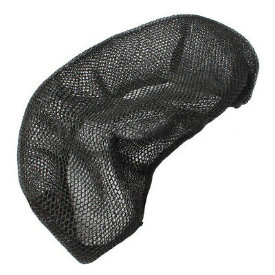 Motorcycle Breathable Net Seat Cover Electric Bike 3D Mesh Protector Cushion Gra