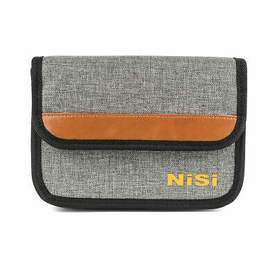 NiSi 100mm Filter Pouch PLUS for 9 Filters (Holds 4 x 100x100mm and 5 x 100x1...
