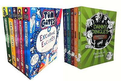 Tom Gates collection with Danny Dingles 10 Books Collection Set - Liz Pichon NEW