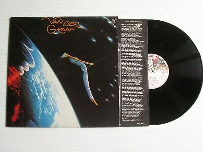 VAN DER GRAAF GENERATOR Quiet Zone LP ITALY PRESS PROG ROCK NO CD MC