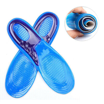 silicone gel insoles for shoes pads foot care high heel protector cushion L4J2